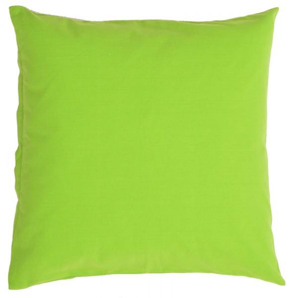 Organic Cushion Dark Green