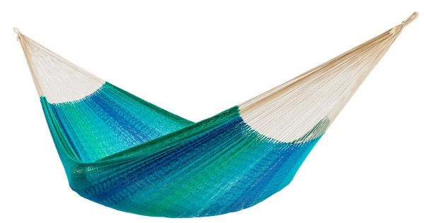 Organic Net Hammock Maya XL Azur