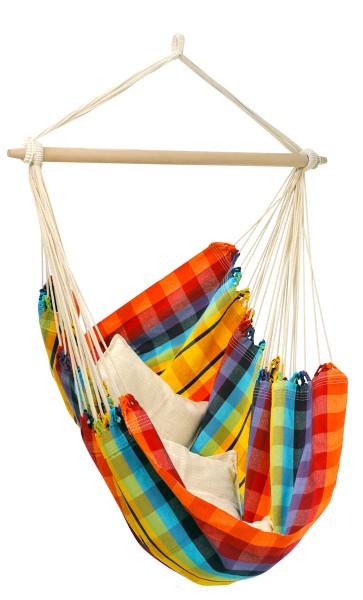 Hammock Chair Brasil Rainbow