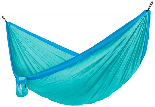 Single Travel Hammock Colibri Caribic with Suspension