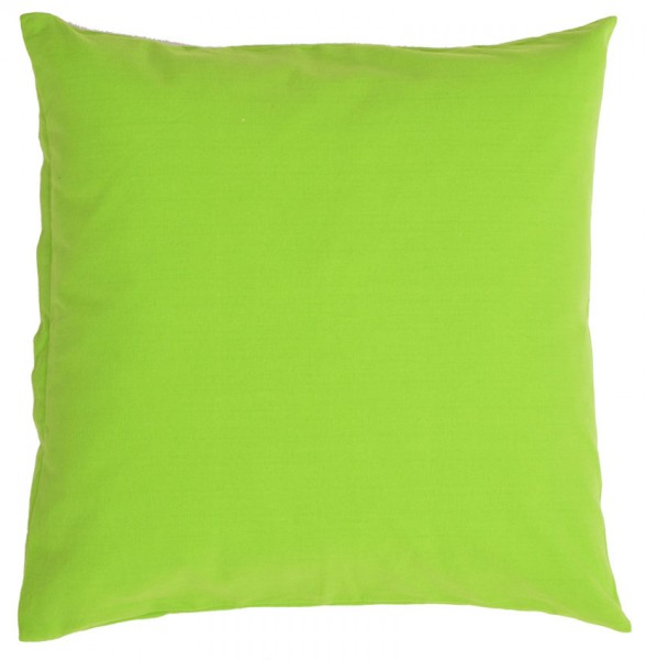 Organic Cushion Lind Green