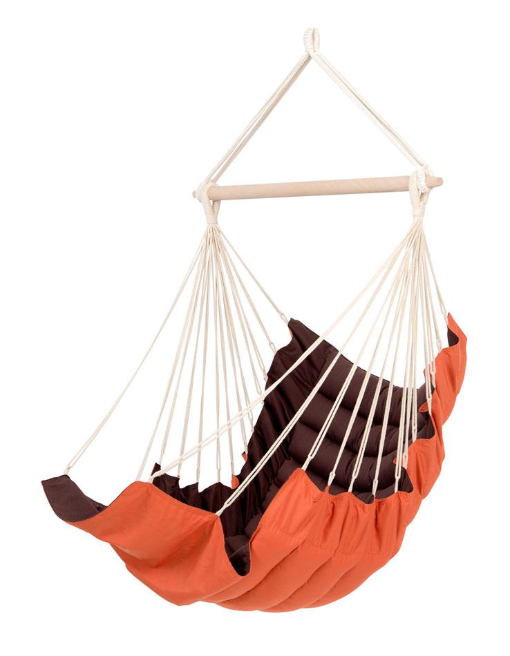 amazonas h ngesessel h ngesitz california terracotta. Black Bedroom Furniture Sets. Home Design Ideas