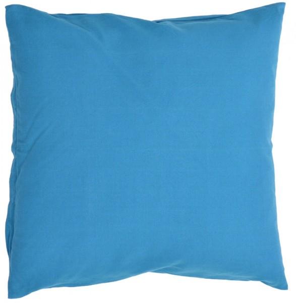 Organic Cushion Dark Blue