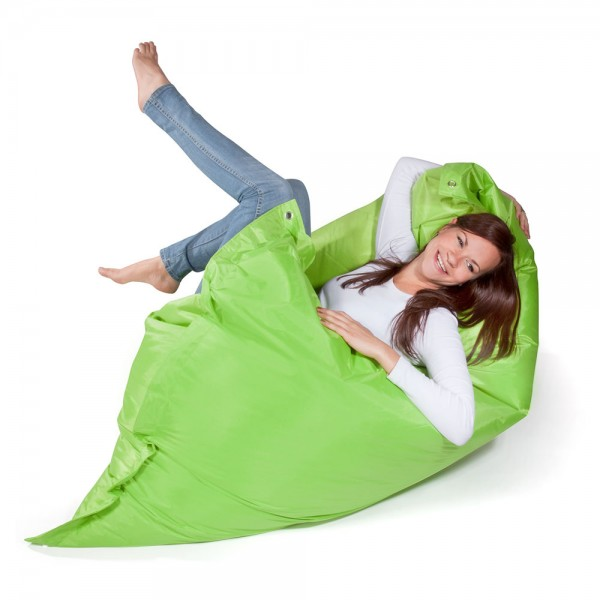 Pushbag Indoor Bean Bag Classic Oxford Lime