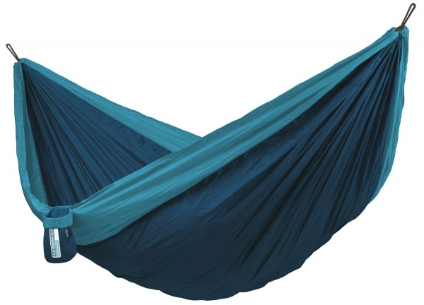 Double Travel Hammock Colibri River with Suspension