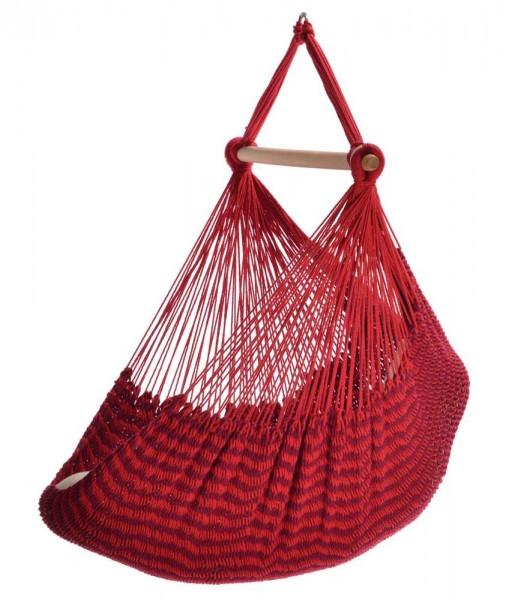 Organic Net Hammock Chair Balao Rubin