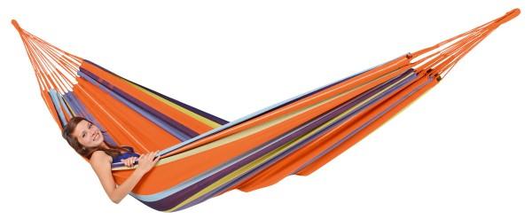Doppel-Hängematte Colombiana Mandarina