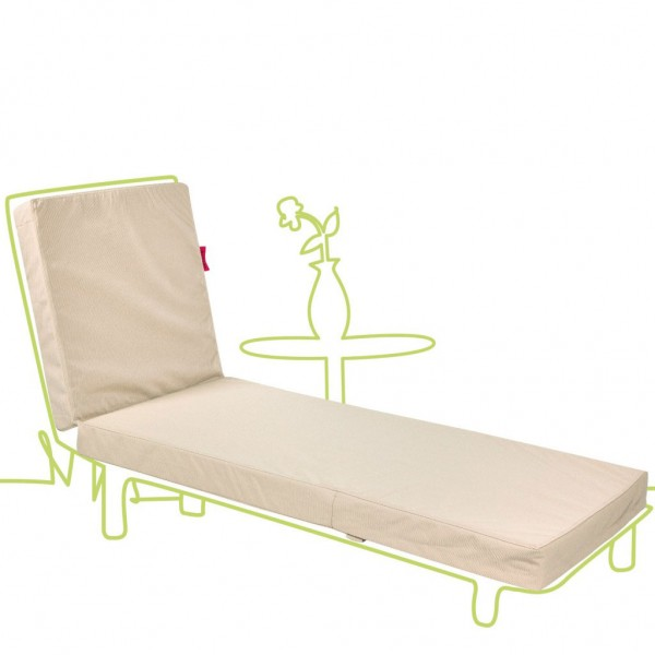 Outbag Topper Flat Chaise Lounge All-weather Cushions