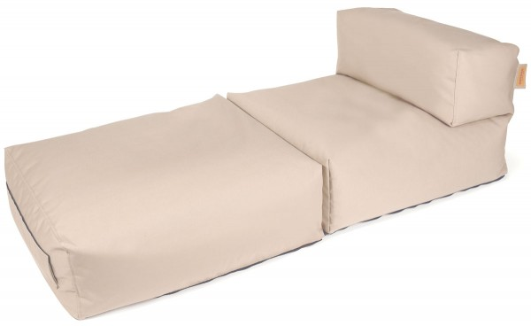 Outbag Beanbag Lounger Switch beige