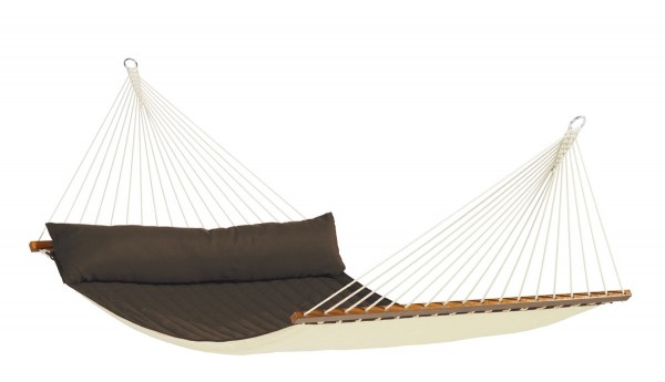 Quilted Kingsize Spreader Bar Hammock Alabama Arabica