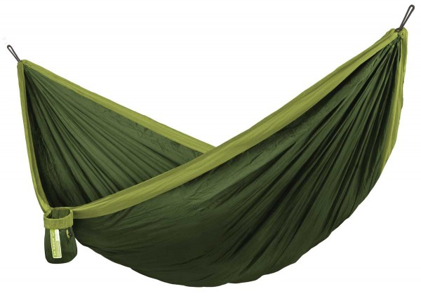 Single Travel Hammock Colibri Forest with Suspension